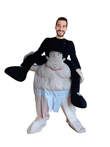 Kämpfer Kostüm Frau - PUS Carry-me Sumo-Ringer Kostüm-e F112 One Size, Kat. 2, Achtung: B-Ware Artikel. Bitte Artikelmerkmale lesen! Frau-en Männer Kämpfer- Tier-e Fasnacht-s Fasching-s Karneval-s Geburtstag-s Geschenk-e