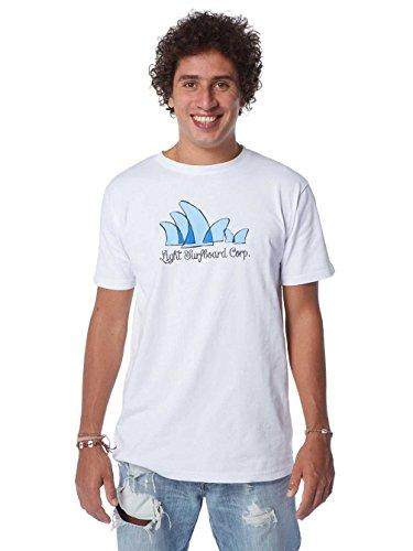 Light Herren T-Shirt Group White