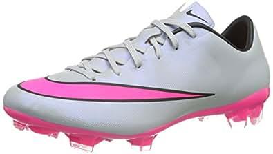 Nike Mercurial Veloce Ii Fg, Chaussures de running entrainement homme - Gris (Wolf Grey/Hyper Pink-Black-Black 060), 40.5