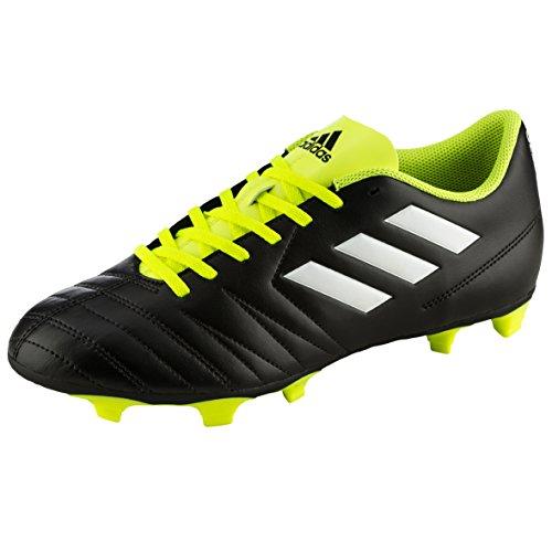 adidas Unisex-Kinder Rasen-Fußballschuhe Copaletto Fxg, Schwarz (Schwarz/Weiß/Gelb 000), 36 EU