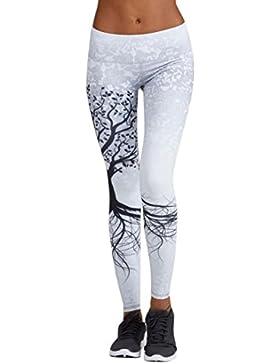 Logobeing Mallas Deporte Mujer Leggins Pantalones Deportivos Elásticos de Cintura Alta Leggings Yoga Running Pantalón...