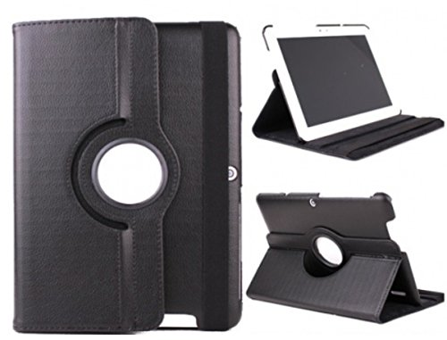 Funda para Tablet Bq Edison 3 10.1' Quad Core. Giratoria 360º (NEGRO)