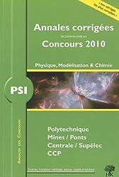 PSI Physique et Chimie 2010