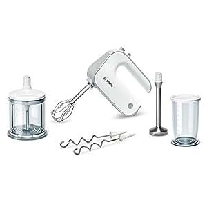 Bosch MFQ4080 Handrührer Set Styline (500 Watt) weiß