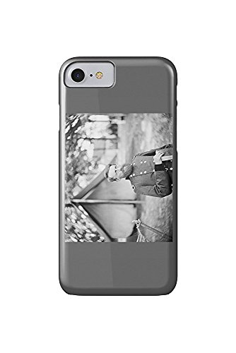 Fair Oaks, VA - Gen. Stoneman in Camp Civil War Photograph (iPhone 7 Cell Phone Case, Slim Barely There)