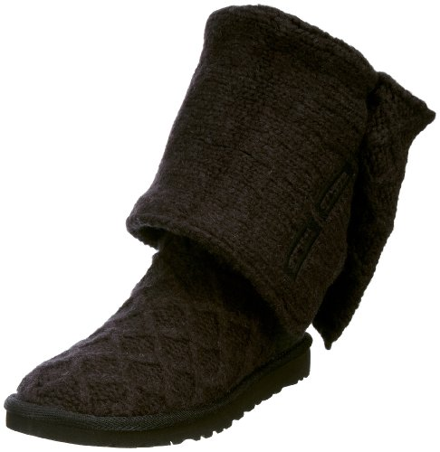 UGG Lattice Cardy 3066 Damen Stiefel Schwarz/Black