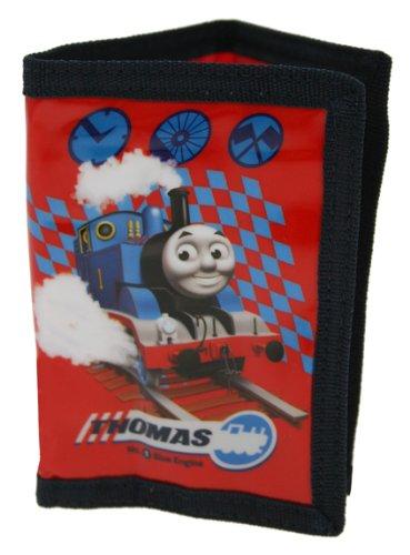 Thomas & Friends THOMAS004016, Herren-Geldbörse Rot rot 4-6 Jahre (Engine Thomas Cartoon)