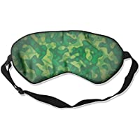 Green Camouflage Sleep Eyes Masks - Comfortable Sleeping Mask Eye Cover For Travelling Night Noon Nap Mediation... preisvergleich bei billige-tabletten.eu