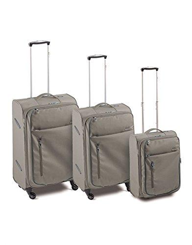 Set 3 Trolley (G-M-C) 4R - Meta (GRIGIO)