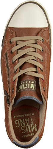 Mustang Herren Sneakers Braun (Kastanie 301)