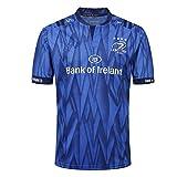 AFDLT Hommes Rugby Jersey 2019 Leinster à la Maison World Cup Summer Vêtements de Football Sports Loisirs T-Shirts Transpiration Respirant Sweat-Shirts,Blue,XXXL