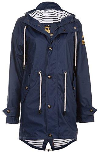 Friesennerz | Maritime Jacke | Regenjacke | veredelt | Das Original aus Ostfriesland in 2 Modell Norderney (XL, Navy)