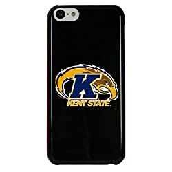 NCAA Kent State Golden Flashes Case for iPhone 5C, One Size, Black