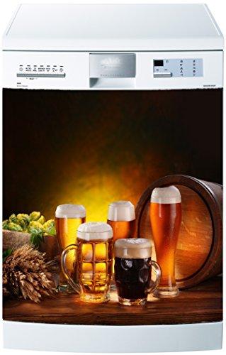 Preisvergleich Produktbild stickersnews-Magnet Spülmaschine Bier 60x 60cm OEM 619