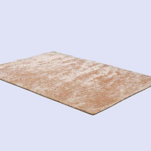 einfache-teppichverschlsselung-premium-polyester-silk-material-rechteck-solid-pattern-3cm-dick-hellb