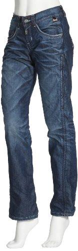 Maloja Femme Denim Pants Obsession Bleu - Bleu roi