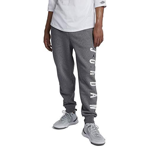 60685a1494 Nike Jordan Jumpman Air Fleece Pant - carbon heather/black, Größe:L