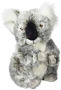 Hermann Teddy Collection- Koala de Peluche, Color carbón (T91424 2)