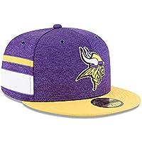 New Era Minnesota Vikings NFL Sideline 18 Home On Field Cap 59fifty Fitted  OTC 28aae66616a9