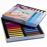 DailyDifferent - Haarkreide 24 Farben Set Haarkreide für einfaches Auftragen & schnelles Auswaschen by DailyDifferent