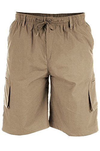 D555 - Herren Shorts Lang Cargo Mit Geformten Bein Taschen (Nick) - translation, original, translation, original (Short Schräge)