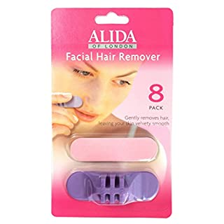 Facial Hair Remover pads by Alida - single pack