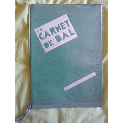 Dossier de presse de Un carnet de bal – Film réalisé par Duvivier avec Fernandel - Broché, 21x 31,5, 8 p. – Photos sépia – Bon état.