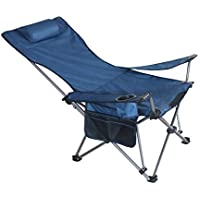 Zhedieyi Chaise de pêche pliante en plein air portable assis mensonge  double chaise longue chaise de 8fd62fbdb35d