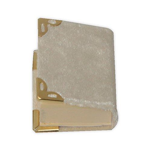 Creme Farbig Mini Koran 5x5,5 cm