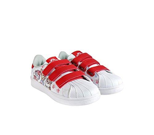 Media wave store scarpe sportive per bambini paw patrol 2300002673 chiusura a strappo urban (25)