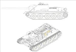 Trumpeter 1/16 Soviet SU-100 Self-propelled Artillery / Full Interior (00915) (Japan Import)