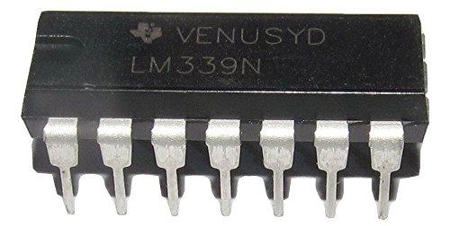2Pcs LM239N DIP-14 Einzelversorgung Quad Differenzvergleichers IC Chip