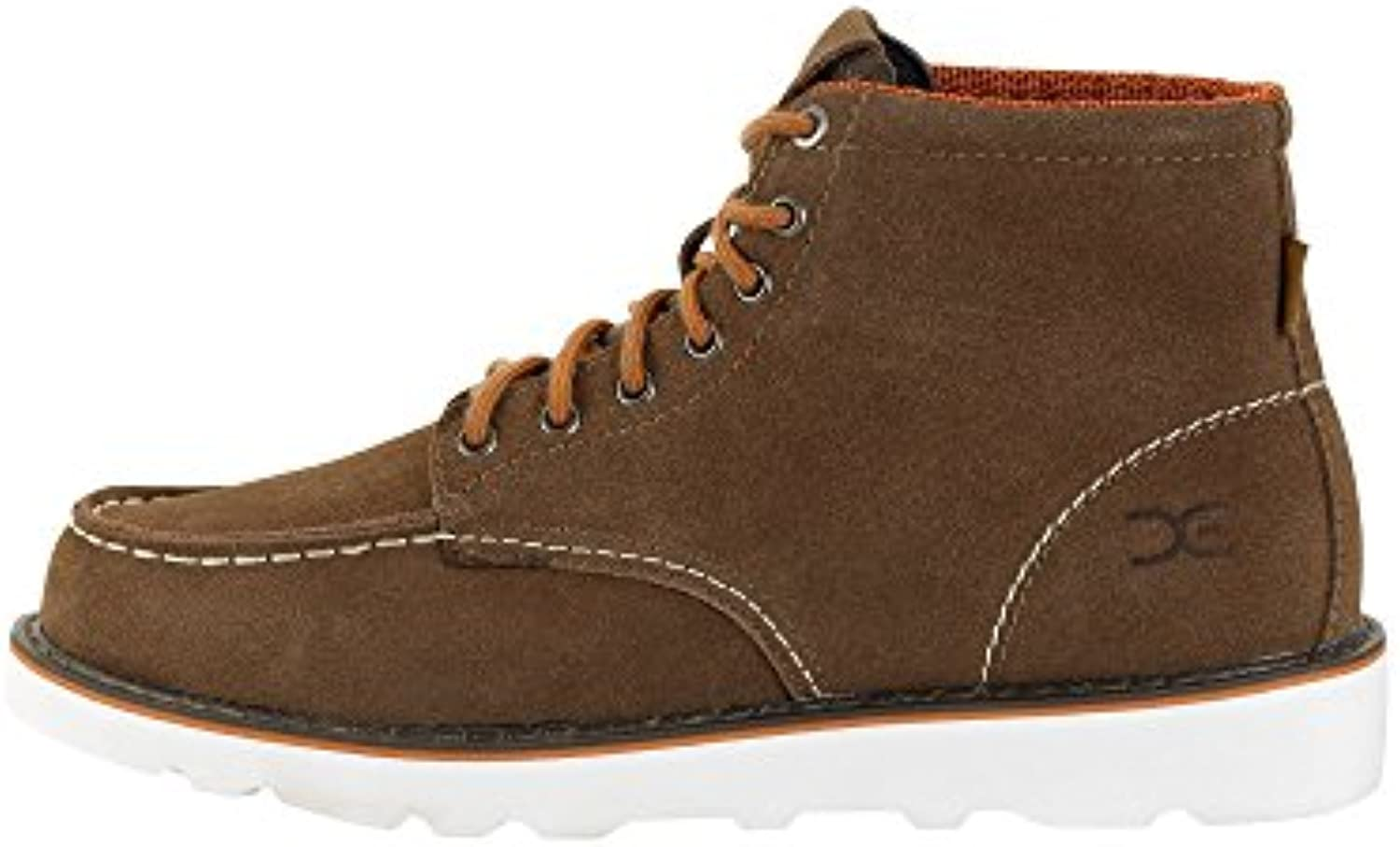 Dude Shoes Men's Rocca Tan Suede Moc Toe Boots UK9 / EU43  -