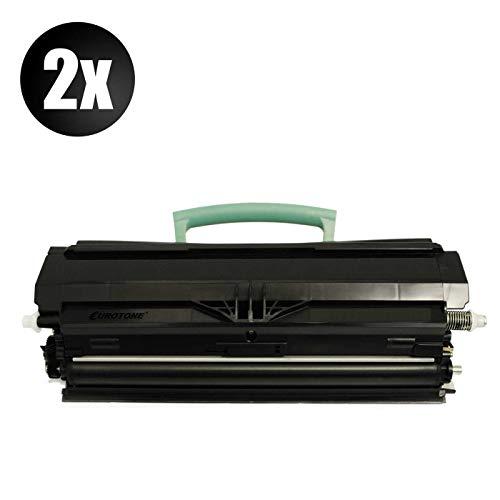 2X Müller Printware Toner für Lexmark E 260 360 460 462 DW D DN DTN ersetzt 00E260A11E -