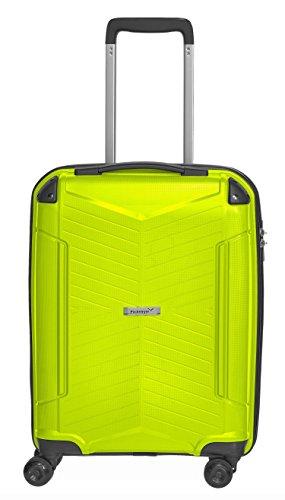 Packenger Premium Hartschalen Trolley Handgepäck PP Koffer Silent 20 Zoll (Hellgrün)