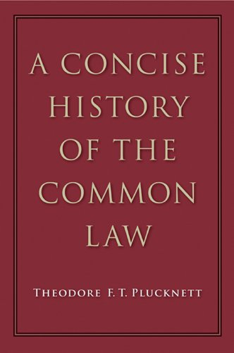 A Concise History of the Common Law (English Edition)