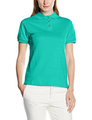 Intimuse Intimuse Damen Poloshirt, Mujer, Verde (grün), Small