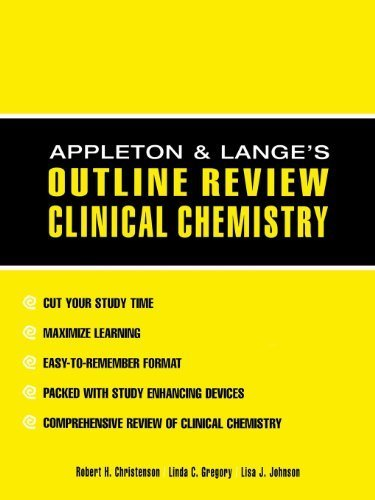 Appleton & Lange's Outline Review Clinical Chemistry by Robert Christenson (2001-04-13)