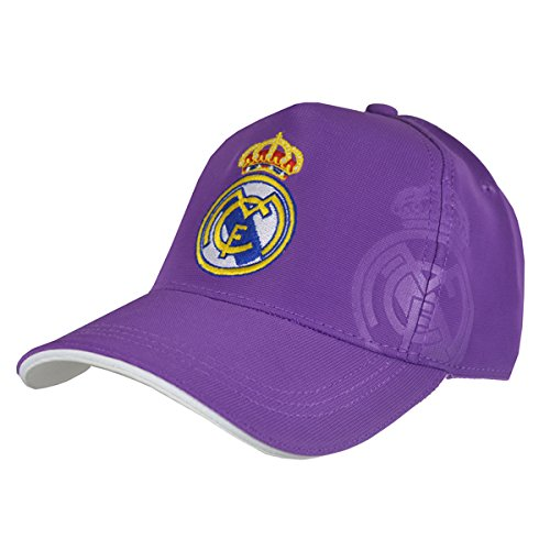 GORRA REAL MADRID MORADA