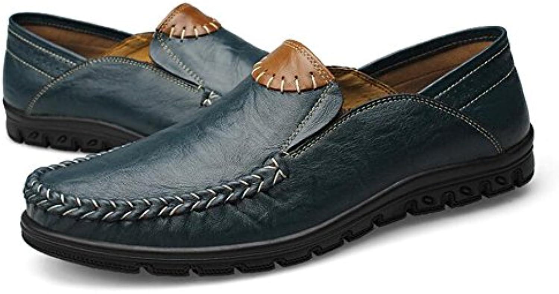 Zapatos De Cuero Dermis Men Seasons Comfort Soft Moda Casual Driving Shoes