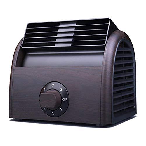 Turbine Vent (XFS Mini Fan Home Desktop Desktop Kleiner Fan Student Schlafsaal Bett Stumm Büro Tragbare Nicht-USB Blattlose Kühlung Klimaanlage Schlafzimmer mit Taschenlampe Fan Lüfter Großen Wind, Kleiner Vent)