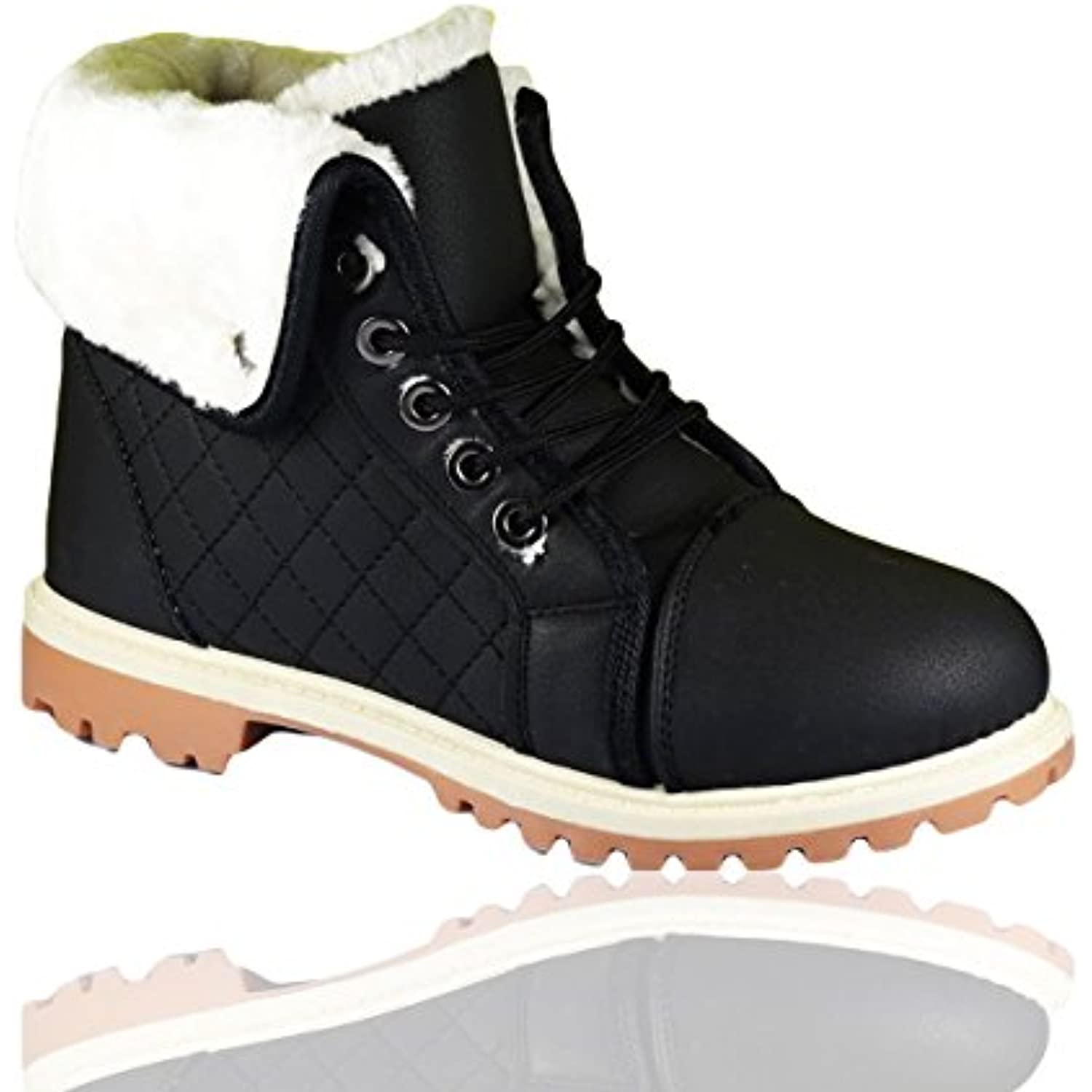 RoMaAn'S IDeal FaShIoN Ankle Boots, Bottes pour Femme - - - B078RCK2MS - 7929b7