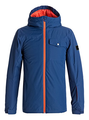 Quiksilver Mission - Snow Jacket - Snow Jacke - Jungen - Blau (Quiksilver Jungen Snowboard Jacke)