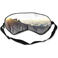 Schlafmaske aus 100% Seide für Damen & Herren, Augenmaske zum Schlafen mit verstellbarem Riemen, Augenbinde, Earth... preisvergleich bei billige-tabletten.eu