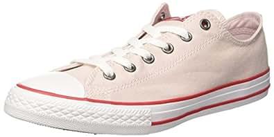 Converse Unisex-Kinder CTAS Hi Barely Rose/Enamel Red/White Fitnessschuhe, Pink (Barely Rose/Enamel Red/White 653), 23 EU