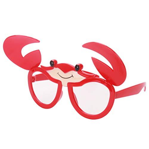 Kostüm Karneval Fotos Von - Amosfun Neuheit Brille Krabben Party Supplies Gefälligkeiten Lustige Brillen Foto Shoot Requisiten Karneval Kostüme Karneval Requisiten Ostern Geschenk