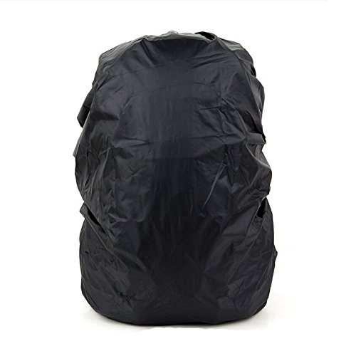 41fKw k7bYL. SS500  - Set of 2 [BLACK] Camping/Hiking Ultrathin Water-proof Backpack Rain Cover,45-55L