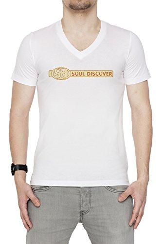 soul-discover-uomo-v-collo-t-shirt-bianco-cotone-maniche-corte-white-mens-v-neck-t-shirt