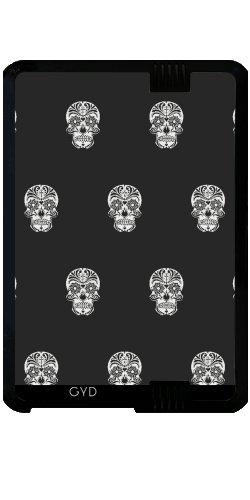 """Custodia per Kindle Fire HD 7"""" (2012 Version) - Cranio Modello B & W by More colors in life"""
