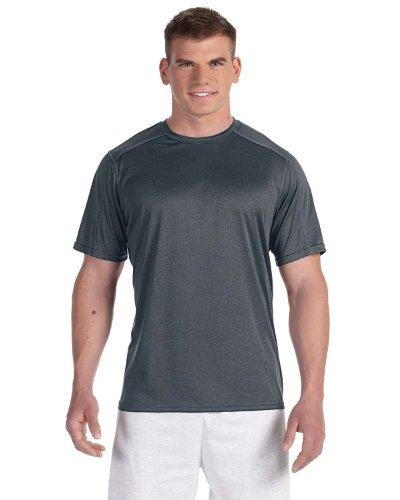 Champion -  T-shirt - Asimmetrico - Uomo nero